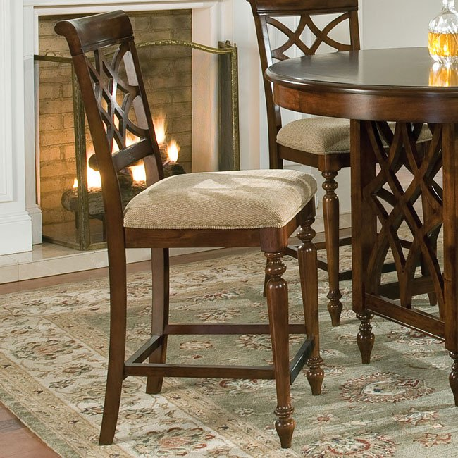 Woodmont Counter Height Dining Room Set By Standard
