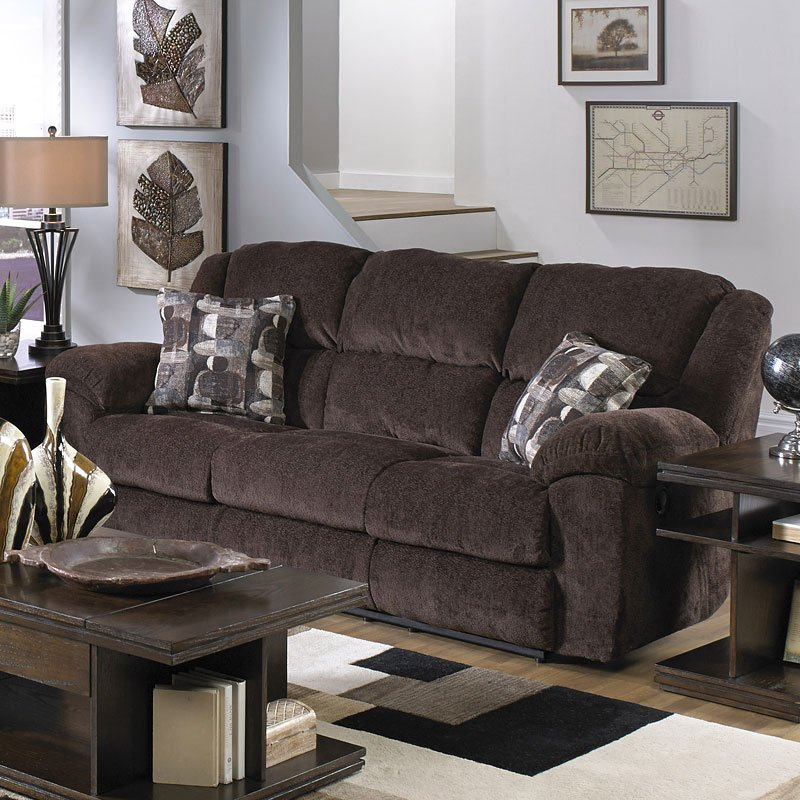 Transformer Triple Reclining Sofa W Drop Down Table