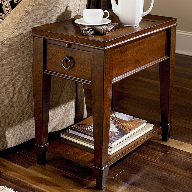 Sunset Valley Chairside Table Occasional And Accent Furniture Living