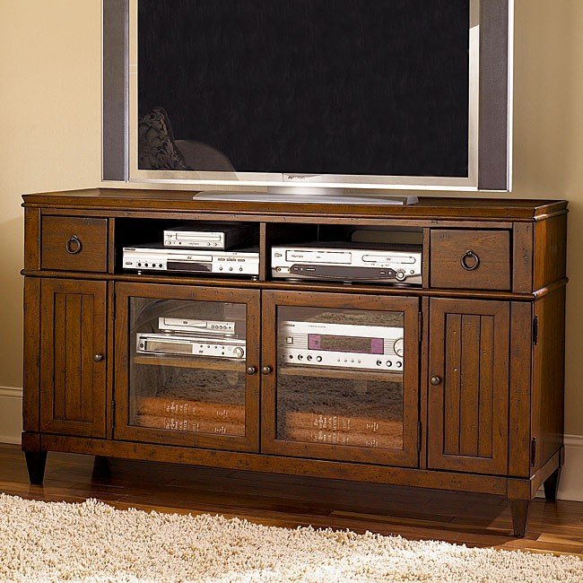Sunset Valley Entertainment Console By Hammary Furniturepick
