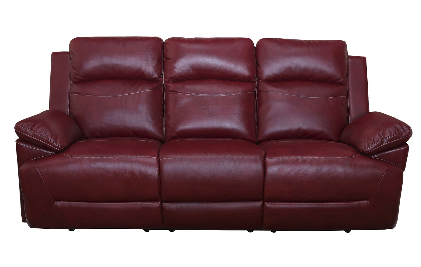 Cortez Dual Reclining Sofa Red By New Classic Furniture