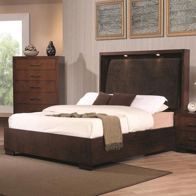 Jessica Bedroom Set W Platform Bed By Coaster Furniture