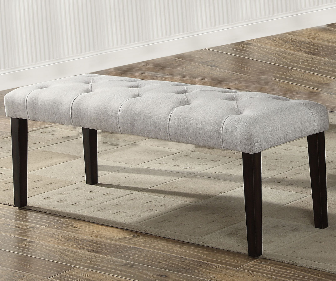 dining room benches with back   Palmer Dining Room Set w/ High Back Bench by Crown Mark ...