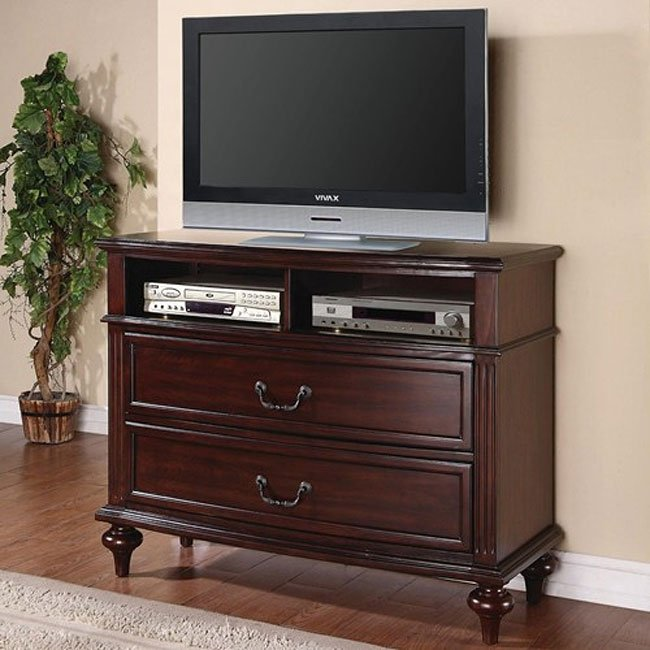 Emilie Bedroom Collection: Emily Bedroom Set (Brown Cherry) By Coaster Furniture