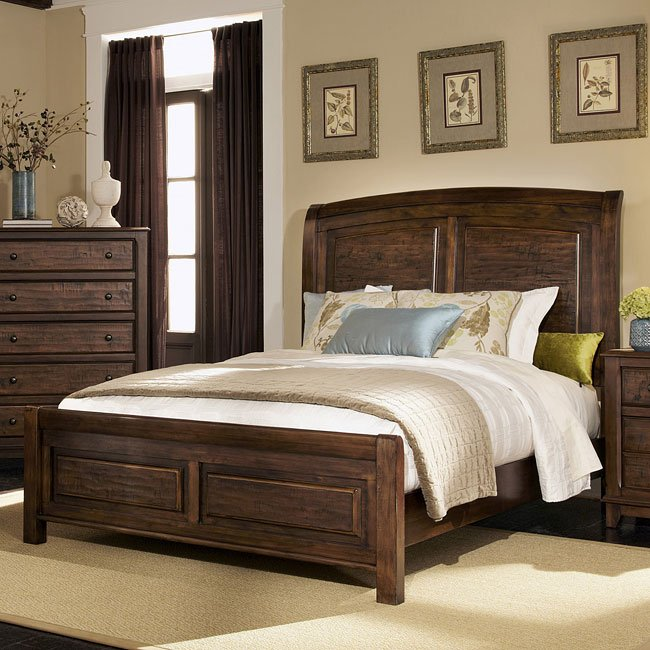 Laughton sleigh bedroom set by coaster furniture 1 reviews furniturepick for Coaster bedroom furniture reviews