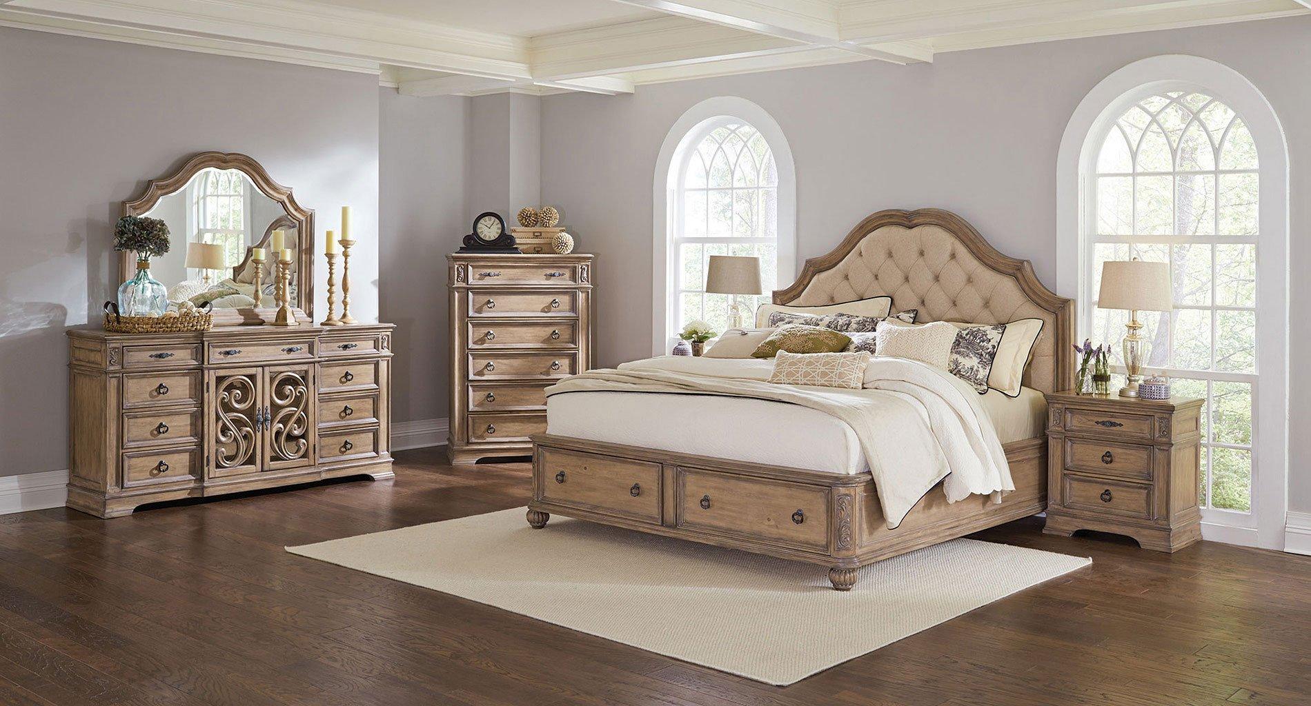 Ilana Storage Bedroom Set by Coaster Furniture   FurniturePick