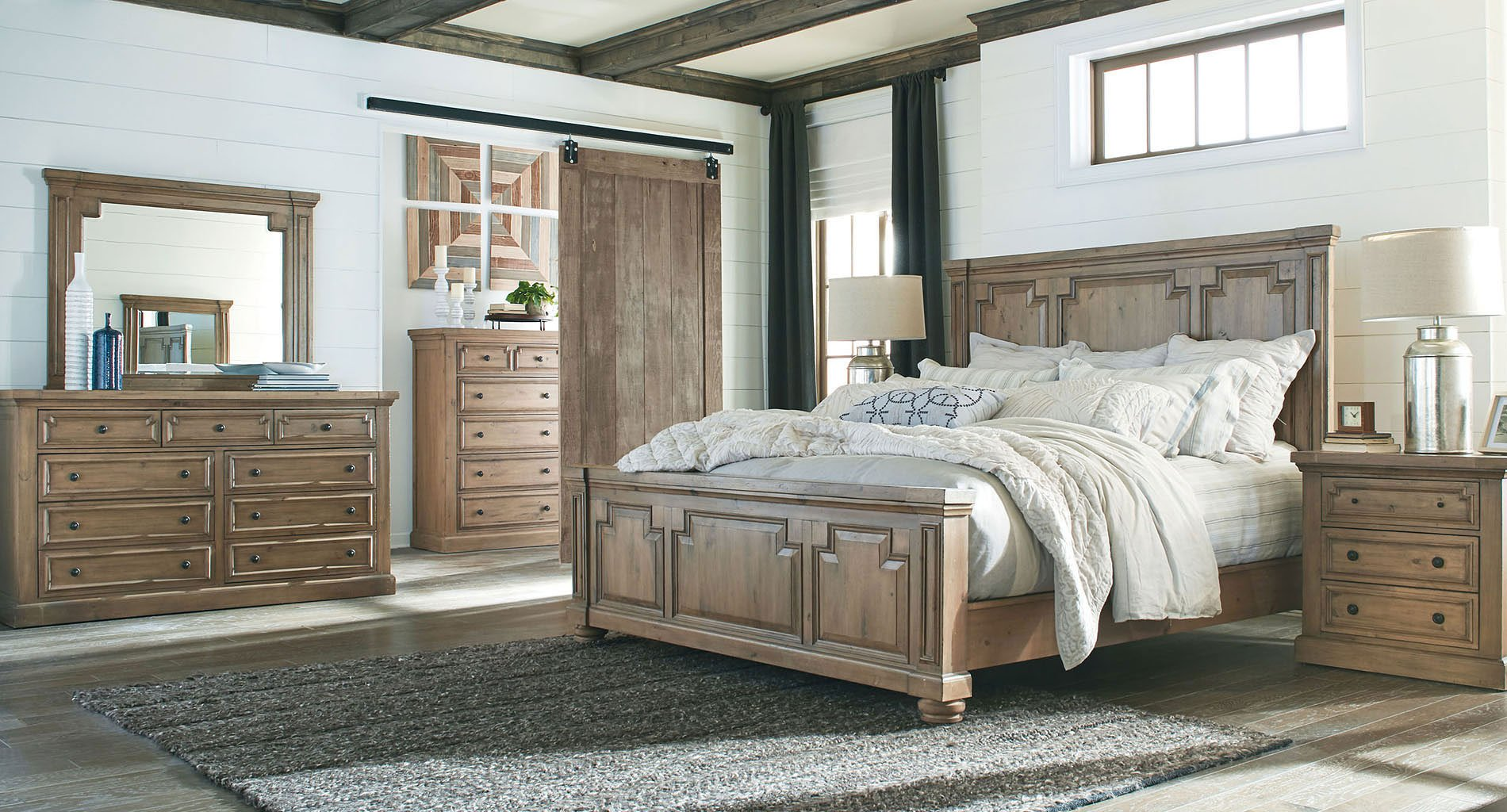 Florence Panel Bedroom Set By Coaster Furniture