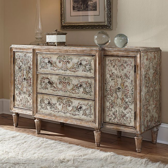 Pulaski 208073 Console Accent Chests And Cabinets Occasional And Accent Furniture Living Room