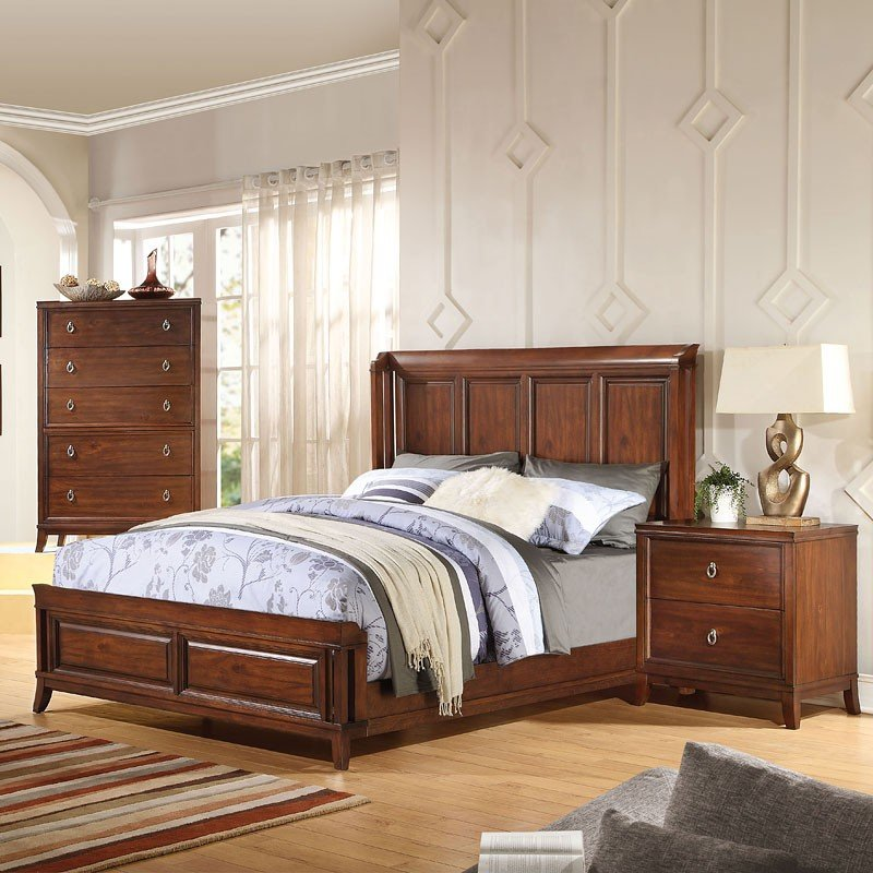 midway panel bedroom set by acme furniture furniturepick 20970 | 20970q br set 1