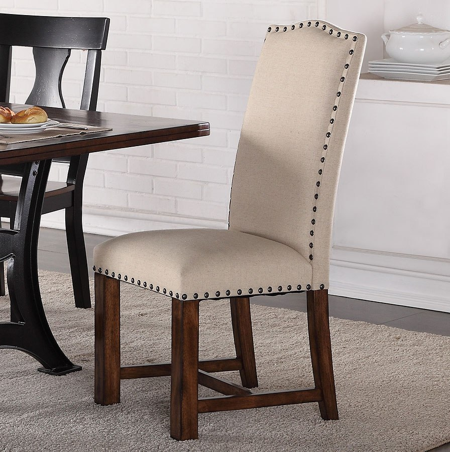 Dining Room Upholstered Chairs: Astor Dining Room Set W/ Upholstered Chairs By Crown Mark