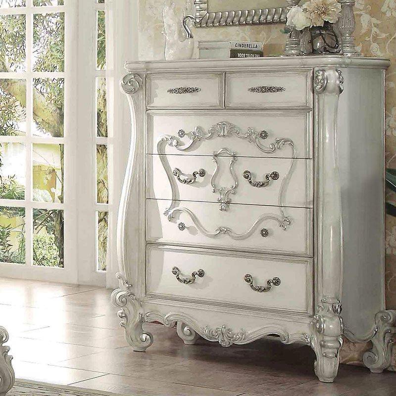Versailles Chest Bone White Chests Bedroom Furniture