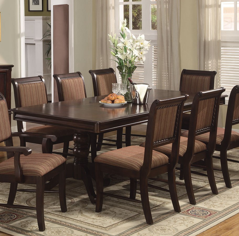 Merlot Dining Table By Crown Mark Furniture Furniturepick