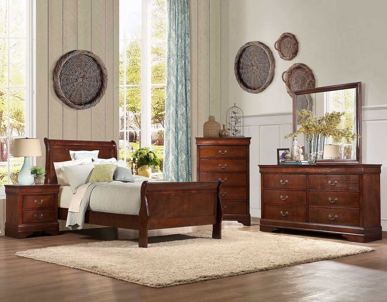 Mayville Youth Sleigh Bedroom Set   Kids Room Sets   Kids And Youth  Furniture   Kids Room