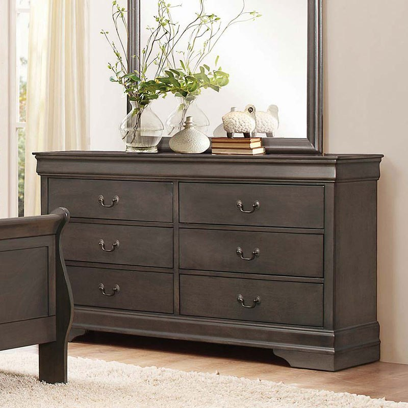 Mayville Dresser Stained Grey