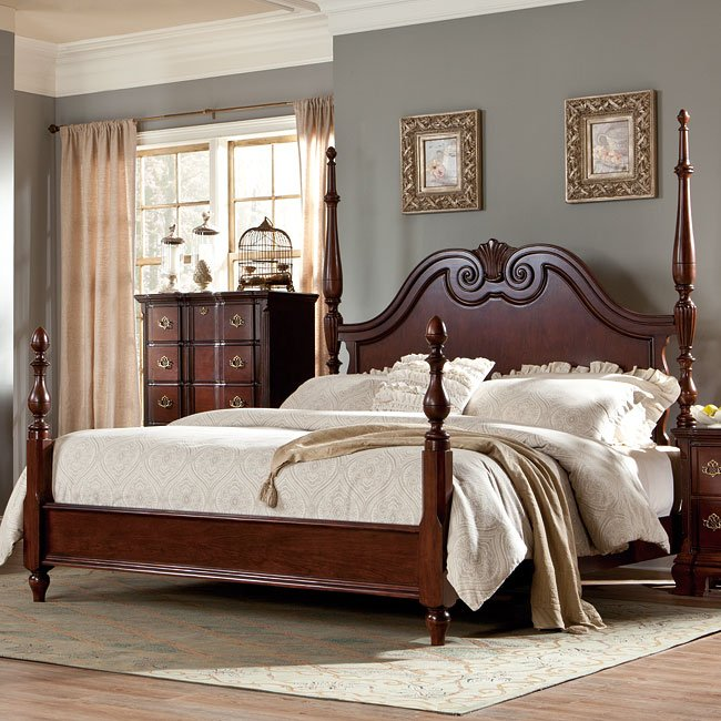 Guilford Tall Short Poster Bed