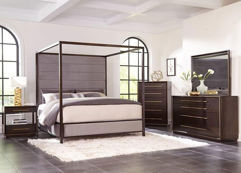 Ingerson Canopy Bedroom Set By Coaster Furniture