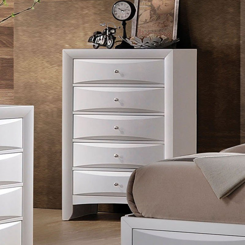 Ireland chest white by acme furniture furniturepick for White media chest for bedroom