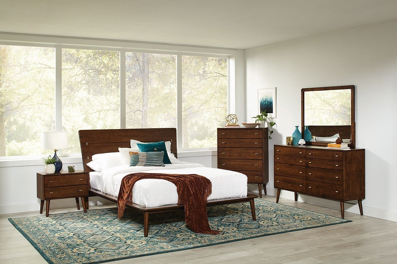 Wenham Platform Bedroom Set By Coaster Furniture Furniturepick