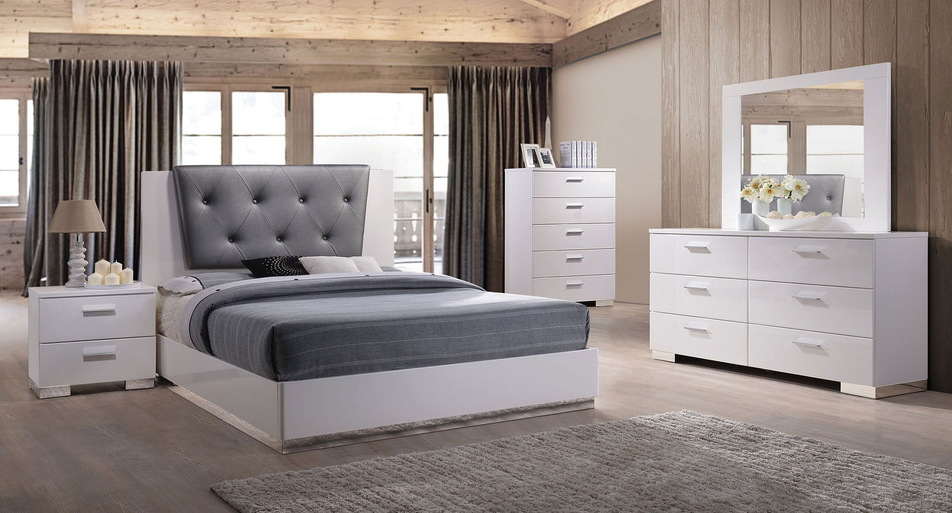 Delicieux Lorimar II Low Profile Bedroom Set