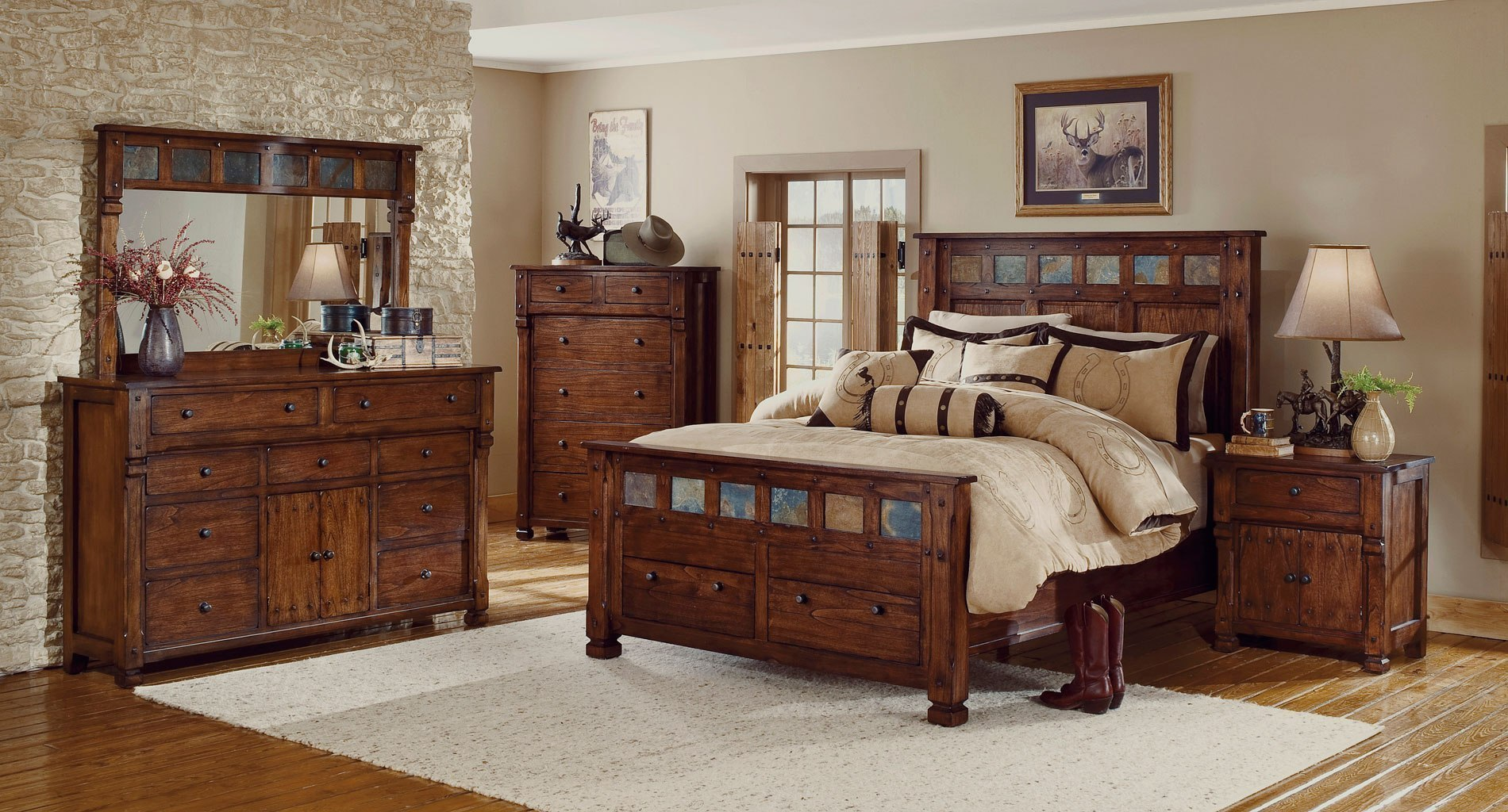 Santa Fe Storage Bedroom Set