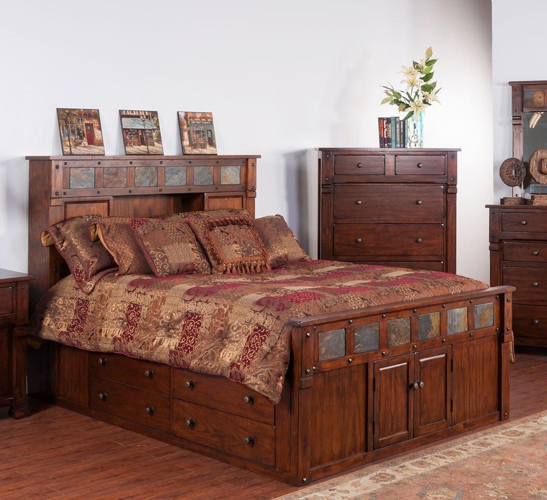 Santa Fe Bookcase Bed