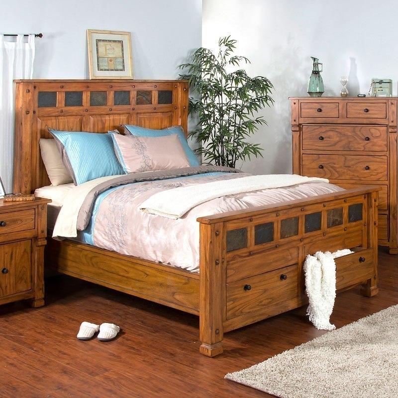 Sedona Storage Bedroom Set by Sunny Designs | FurniturePick