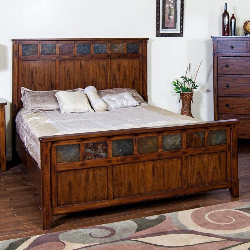 Santa Fe Petite Panel Bed