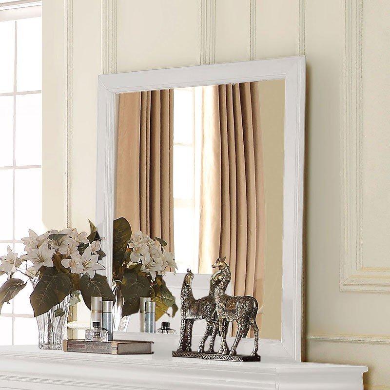Louis Philippe Mirror White