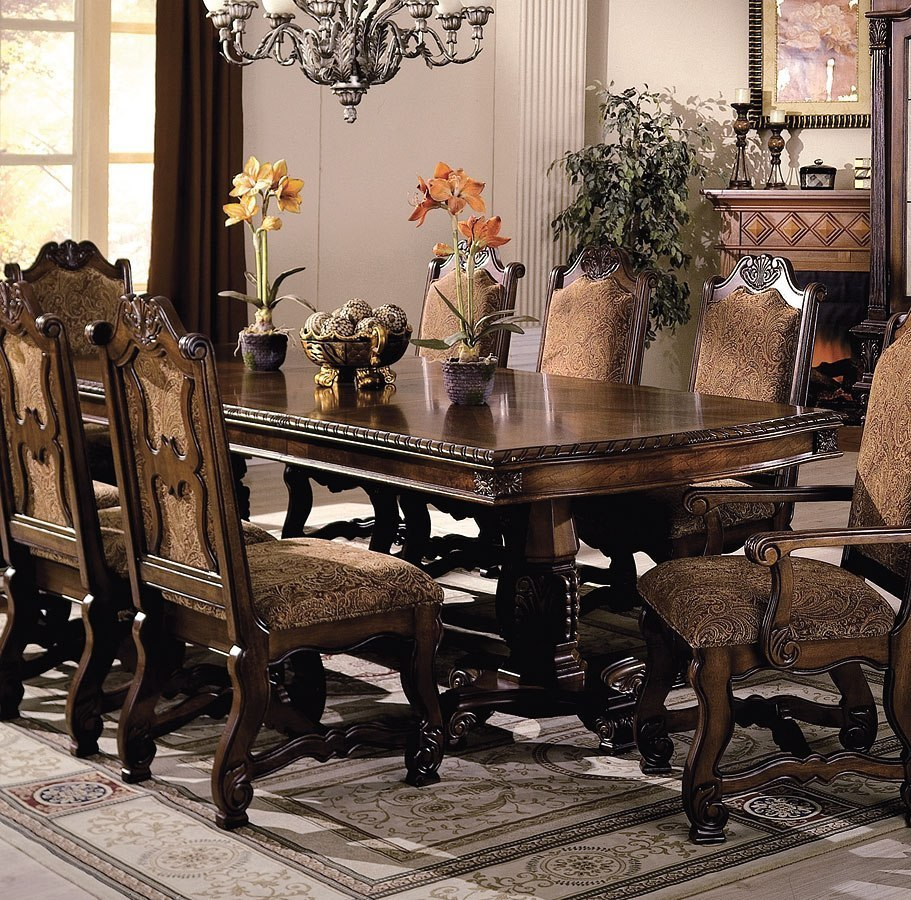 Neo Renaissance Dining Room Set By Crown Mark Furniture Furniturepick