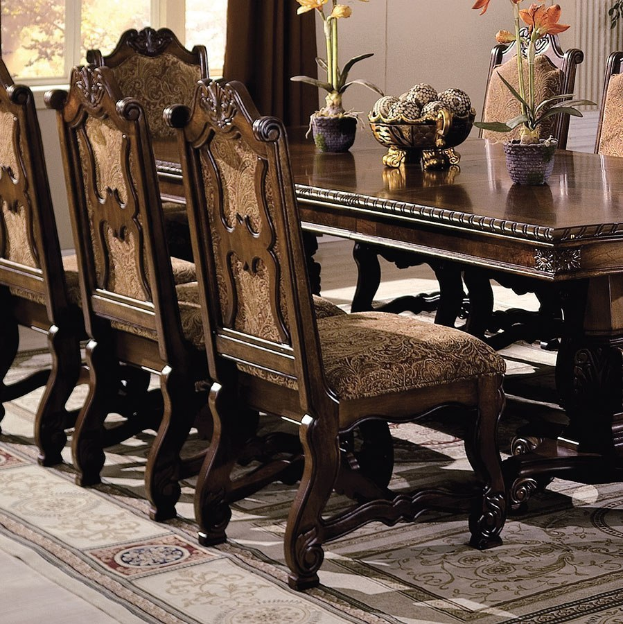 Neo Renaissance Side Chair Set Of 2 By Crown Mark Furniture