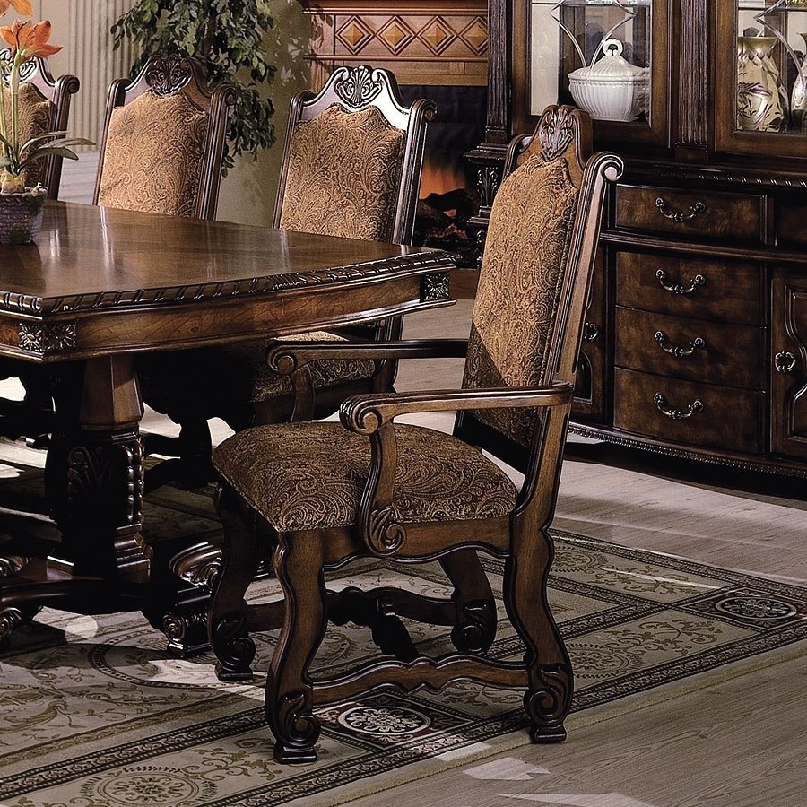 Neo Renaissance Arm Chair Set Of 2 By Crown Mark Furniture