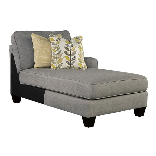 Chamberly Alloy Modular Sectional W Chaise By Signature
