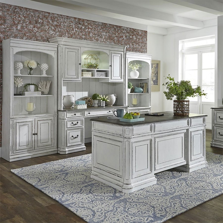Magnolia Manor Jr Executive Home Office Set by Liberty ...