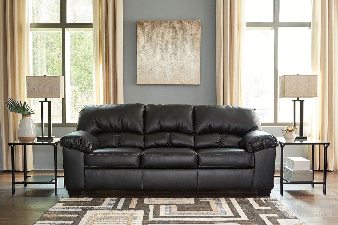 Brazoria Black Sofa by Signature Design by Ashley ...