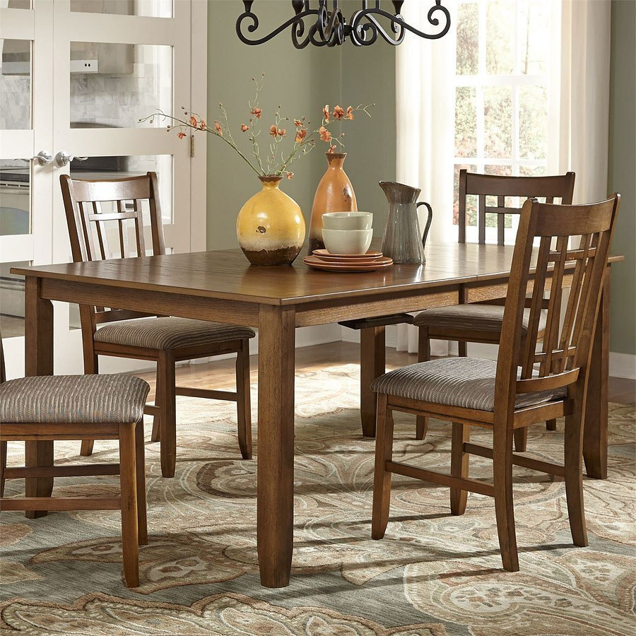 Santa Rosa Rectangular Dining Table (Mission Oak) By