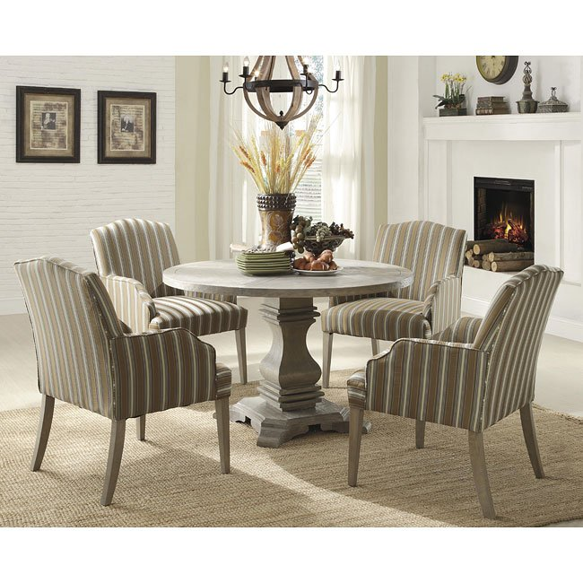 Casual Dining Room Decor Ideas: Euro Casual Dining Room Set Homelegance