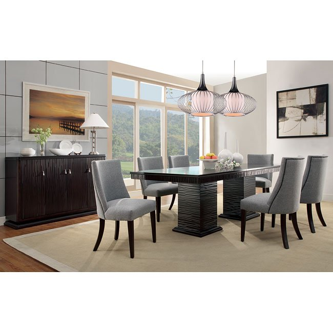 Dining Chairs Chicago: Chicago Dining Room Set By Homelegance