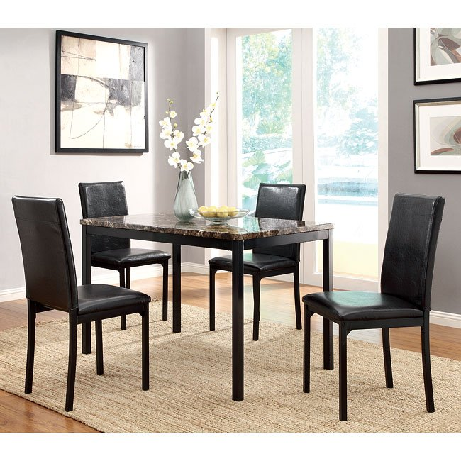19be570101a Tempe Dining Room Set by Homelegance