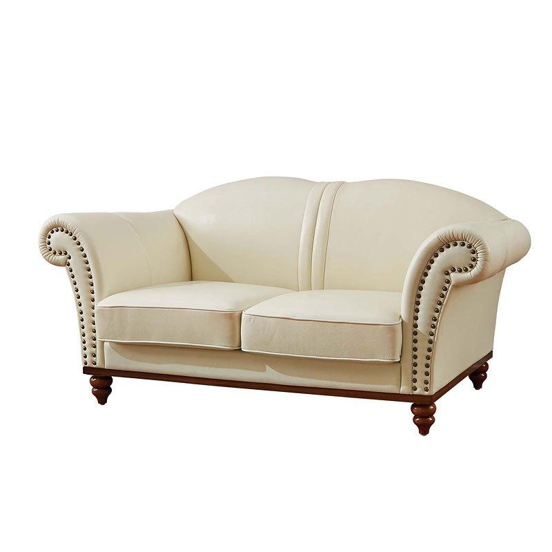 Italian Living Room Furniture Sets: 2601 Italian Leather Living Room Set By ESF Furniture