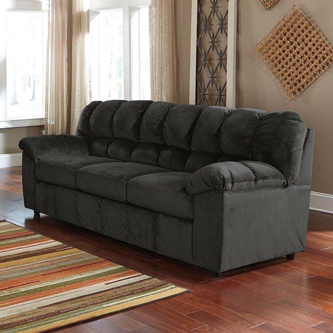 Julson Ebony Sofa By Signature Design By Ashley, 1 Reviews