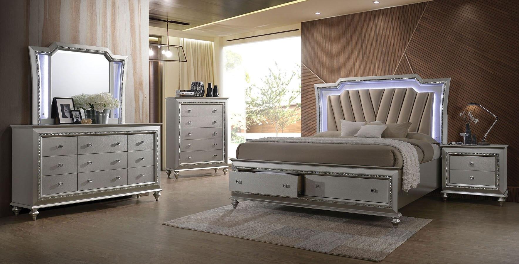 kaitlyn storage bedroom setacme furniture  furniturepick