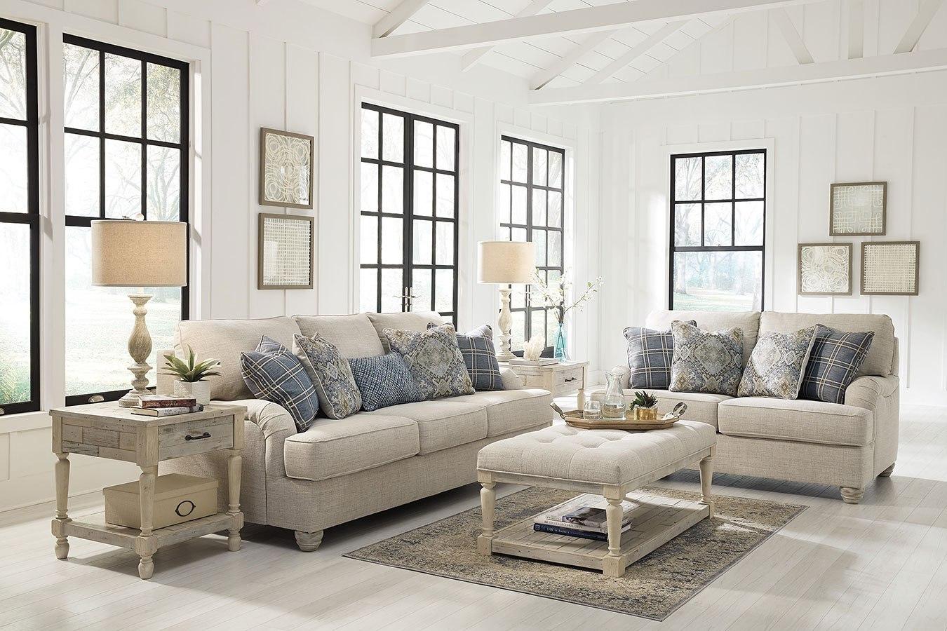 Traemore linen living room set by benchcraft furniturepick