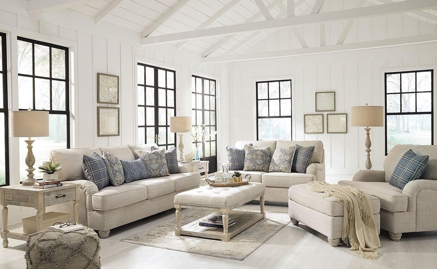 Traemore linen living room set