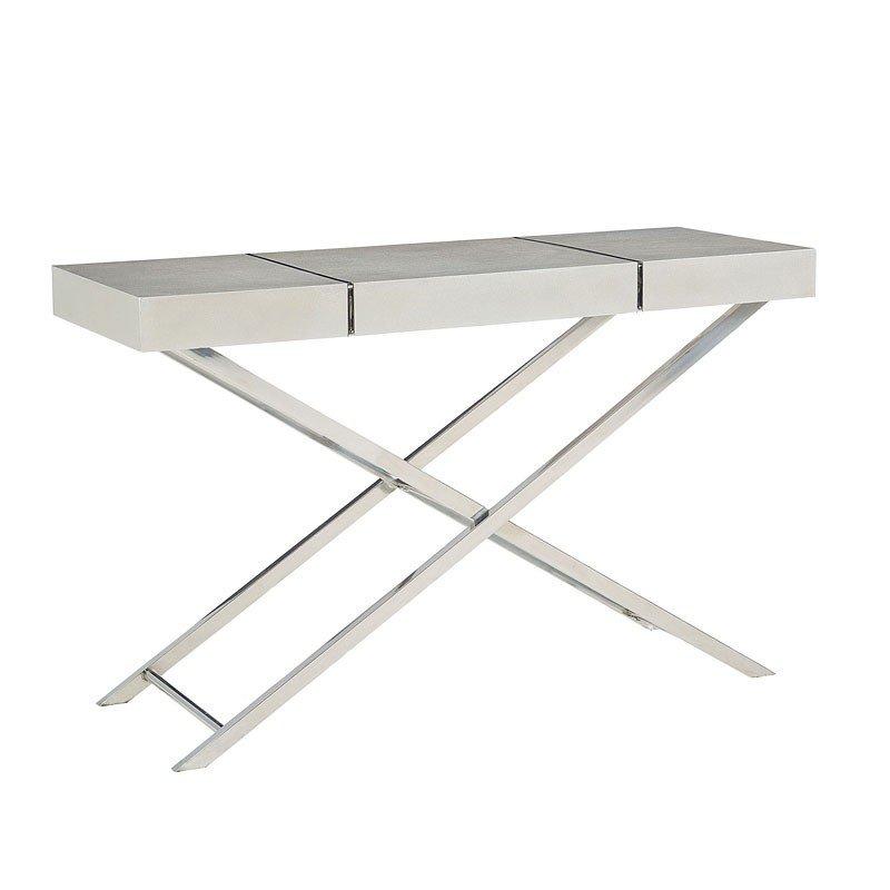 Ava Silver Console Table