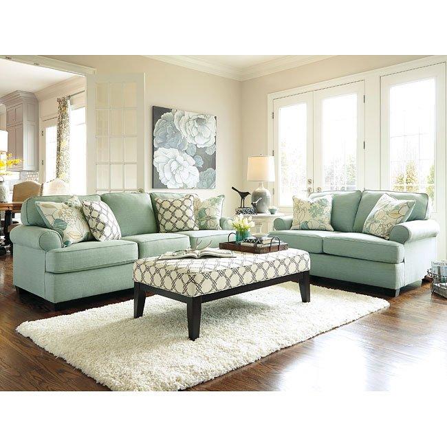 Exceptionnel Daystar Seafoam Living Room Set