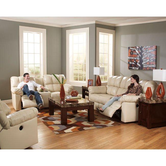 Admirable Kennard Cream Living Room Set W Power Download Free Architecture Designs Scobabritishbridgeorg