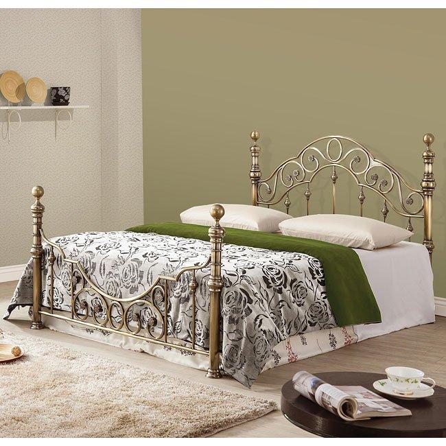 camille metal bed beds bedroom furniture bedroom. Black Bedroom Furniture Sets. Home Design Ideas