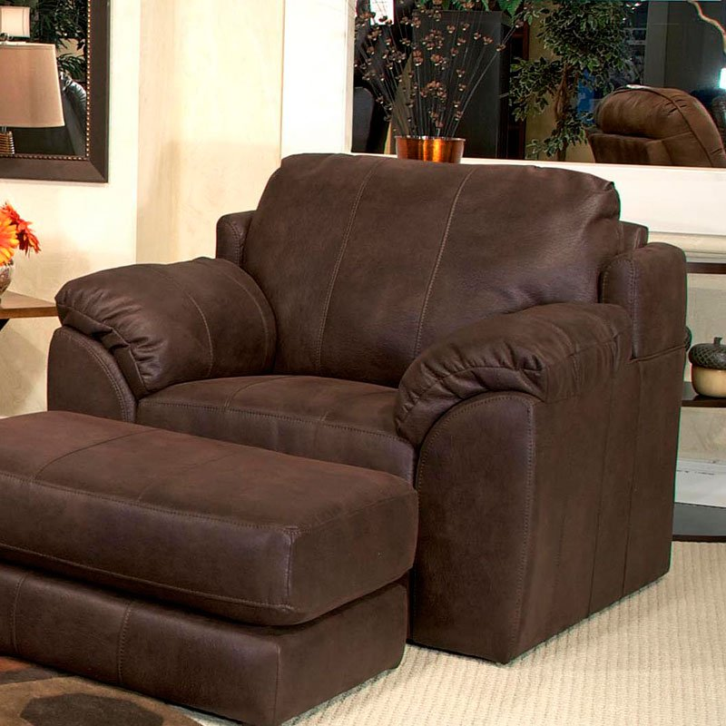 sullivan chair and a half cocoa chairs living room furniture living room. Black Bedroom Furniture Sets. Home Design Ideas