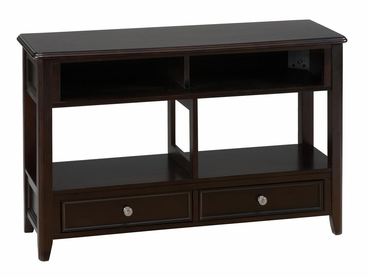 Corranado Espresso Sofa Table