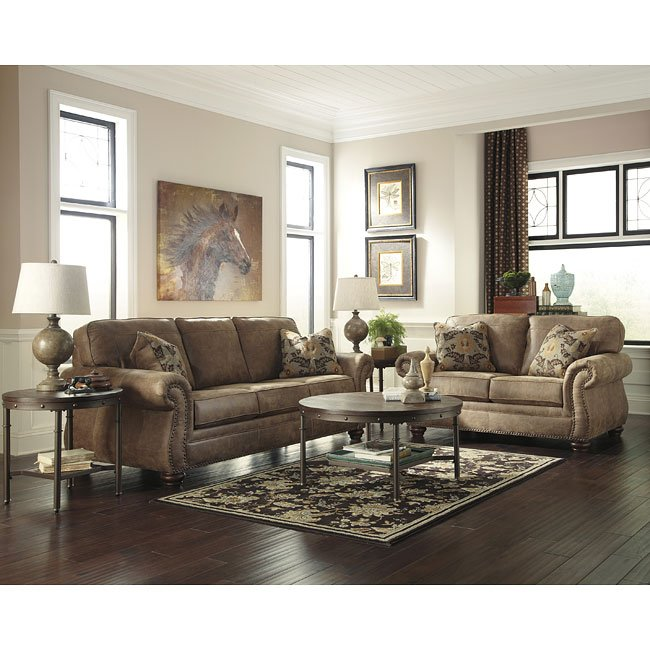 Larkinhurst Earth Living Room Set By Signature Design Ashley 11 Reviews Furniturepick